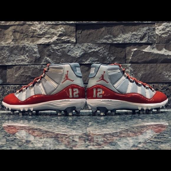 Custom Jordan 1 Football Cleats